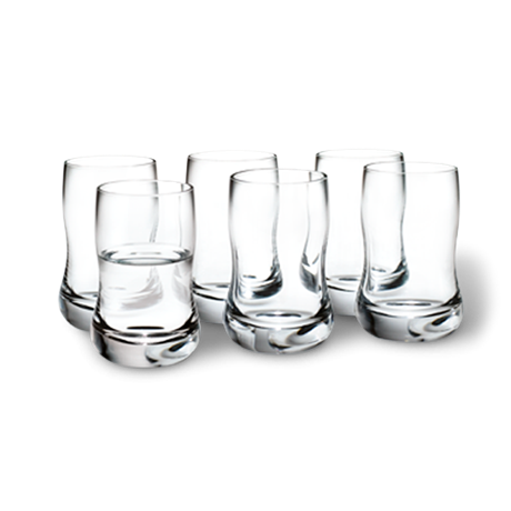 Holmegaard Shot Glasses Set of 6