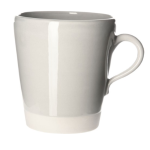 Eve Mug Pale Grey Gloss