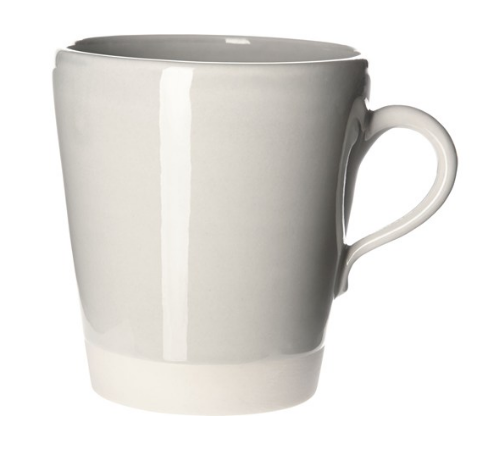 Eve Mug Pale Grey Gloss