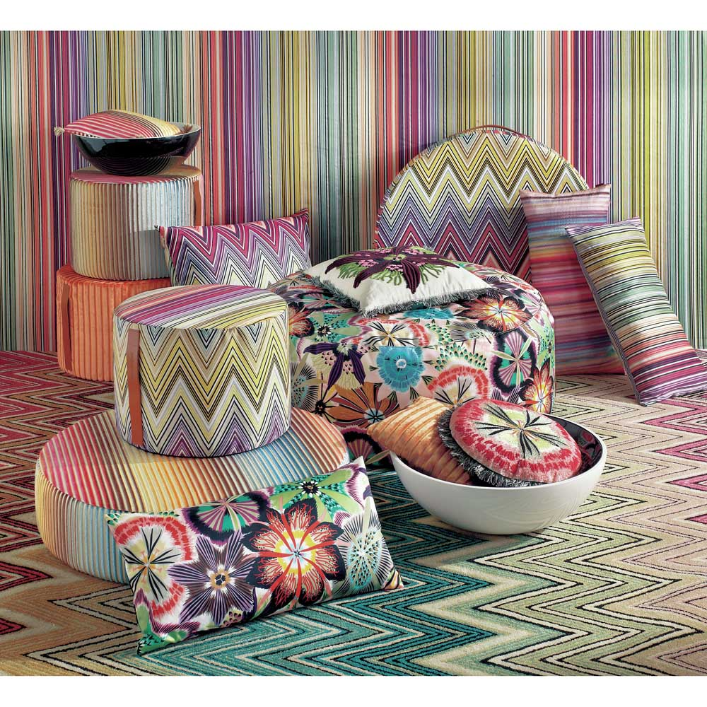 missoni fabric. Black Bedroom Furniture Sets. Home Design Ideas
