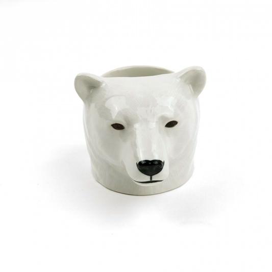 Quail Egg Cup Polar Bear