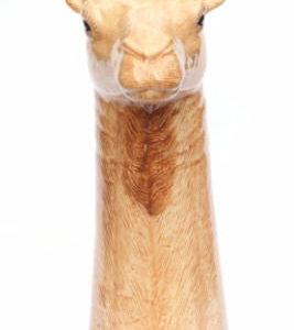 Quail Flower Vase Camel