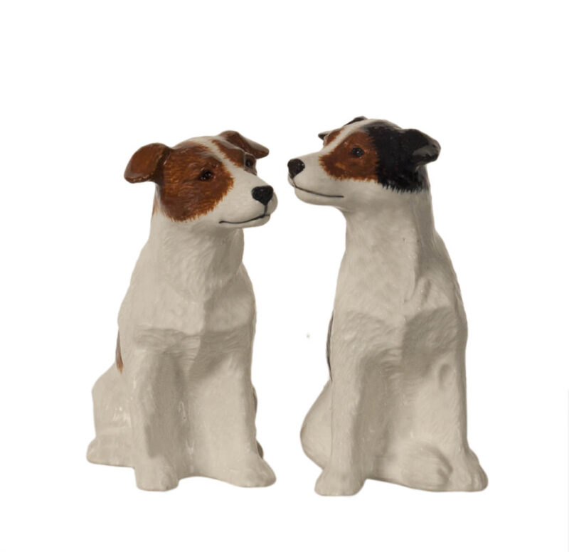 Quail Salt and Pepper Shakers Jack Russell