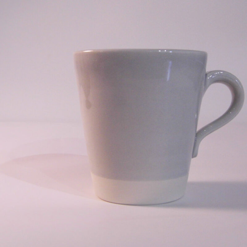 Eve Small Mug Pale Grey Gloss