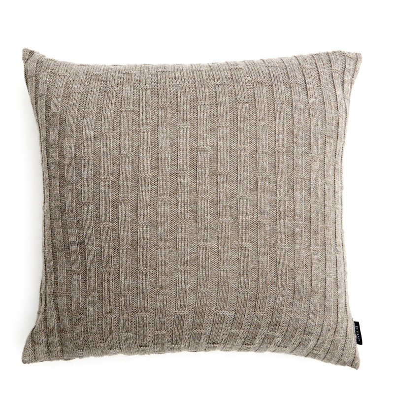 Concrete Blocks Cushion - Caramel