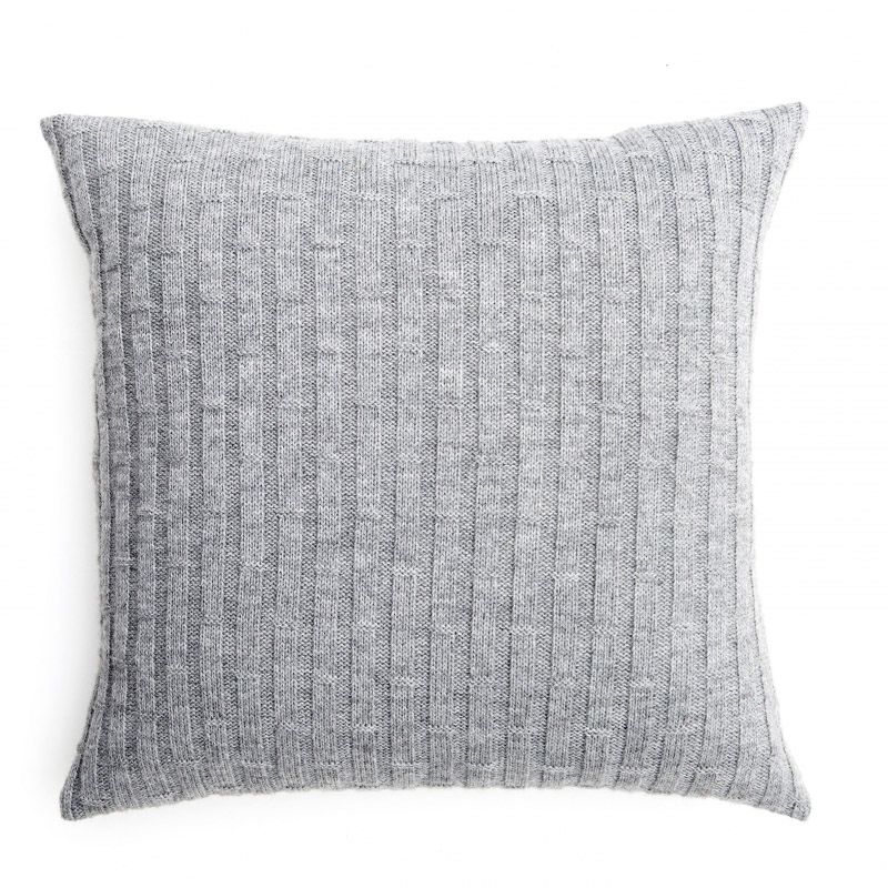 Concrete Blocks Cushion - Metal Grey