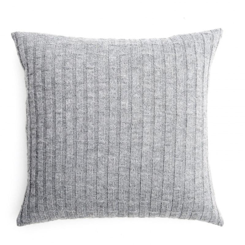 Concrete Blocks Cushion - Metal Grey