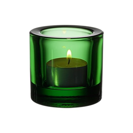 Iittala Kivi Candleholder Green