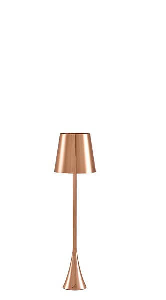 Pascal Mourgue Copper Bedside Lamp