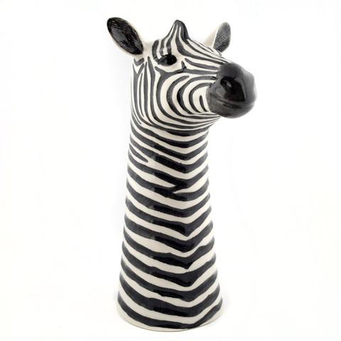 Quail Flower Vase Zebra