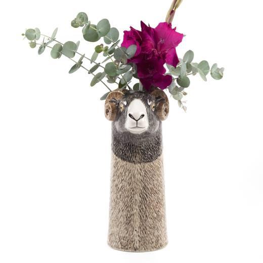 Quail Flower Vase Swaledale Ram