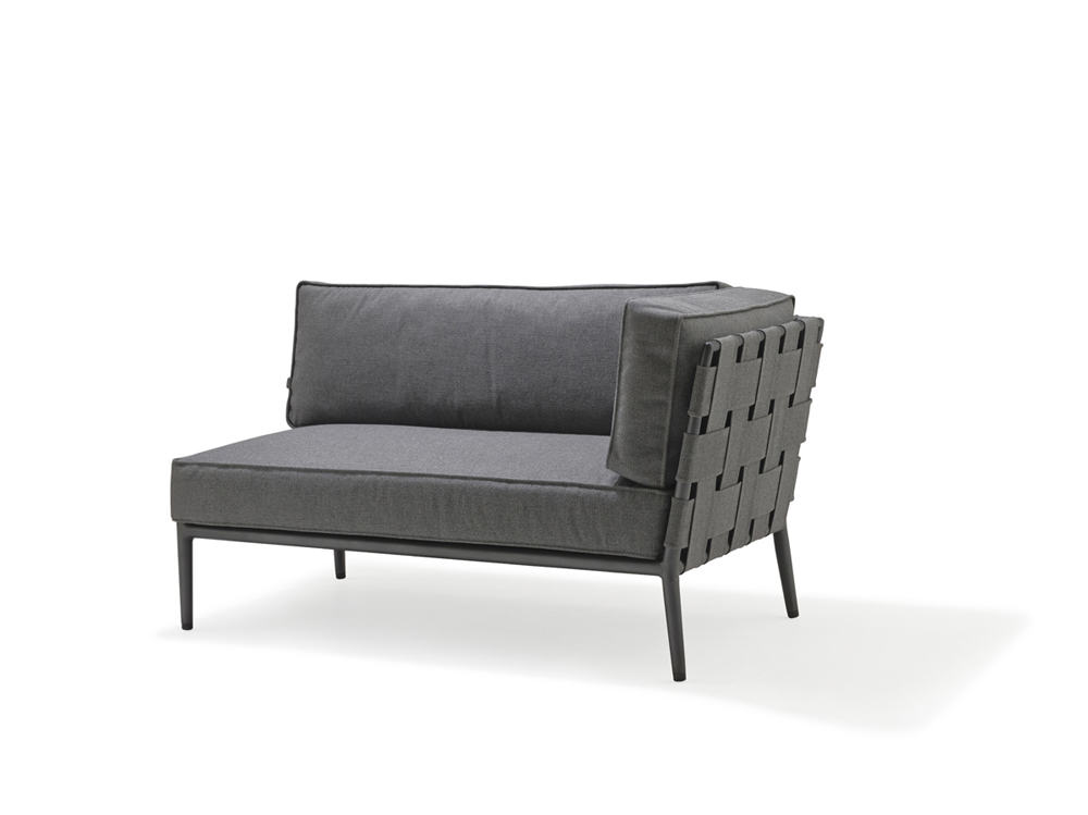 Conic 2 Seat Sofa - Left Module