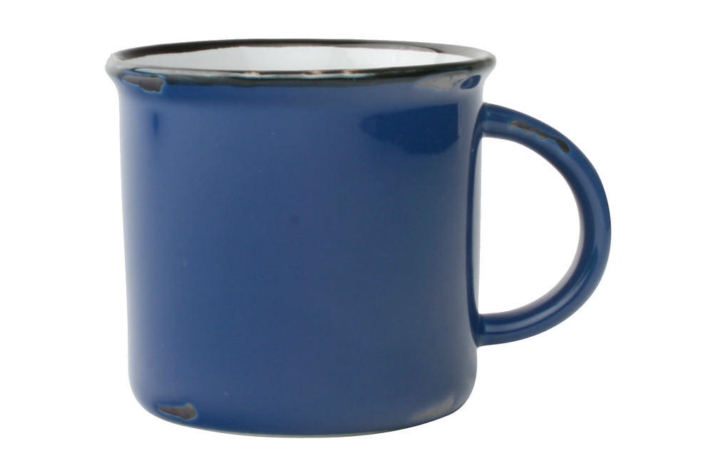 Tinware Mug - Blue