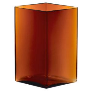 Iittala Ruutu Vase Copper