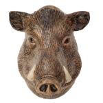 Quail Wall Vase Wild Boar